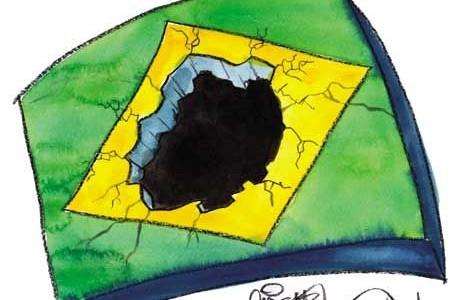 Resultado de imagem para a hecatombe sobre o planalto
