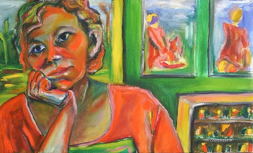 Rejane Batista de Melo – pintura mulher