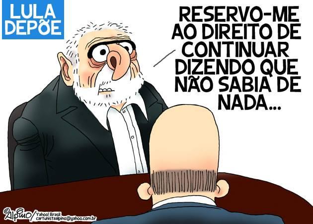 Resultado de imagem para o triplex do Lula: charges