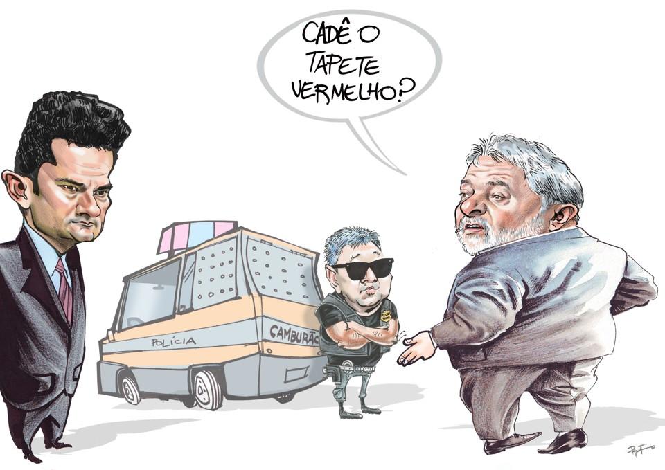 Resultado de imagem para LULA É O PERSEGUIDO POLÍTICO MAIS RICO DO MUNDO>: charges