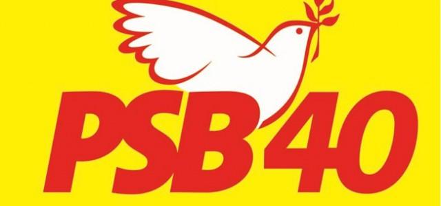 PSB logo amarelo